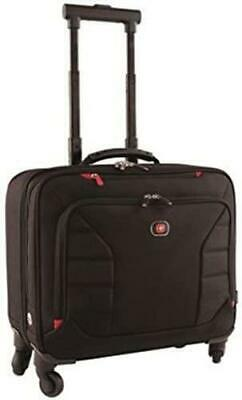 Wenger INTERCHANGE 17  Deluxe Wheeled Laptop Briefcase Padded Laptop Compartment • 69.99£