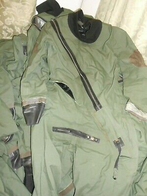 Immersion Protection Suit Gore-tex Coverall Aircrew Typhoon Eurofighter Pilots L • 34.99£