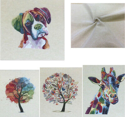 £4 • Buy Chatham Glyn Cushion/Bag Panels.Thick Tapestry Style Cotton Fabric.4 New Designs