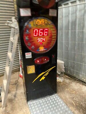 Boxing Machine Boxer Arcade Coin Operated Takes New £1 Coin  • 575£