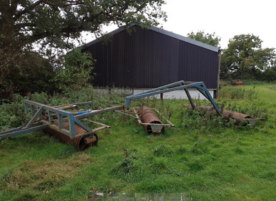 Farm Machinery, Agricultural Rolls, Set Of Three, Hydraulically Folding • 750£