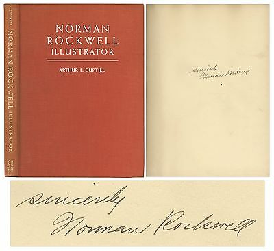 $ CDN501.28 • Buy Norman Rockwell Signed 1946 Hardbound Illustrator Book