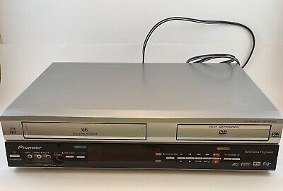 £56.55 • Buy Pioneer DVR-RT500-S VCR DVD Recorder Combo - No Remote