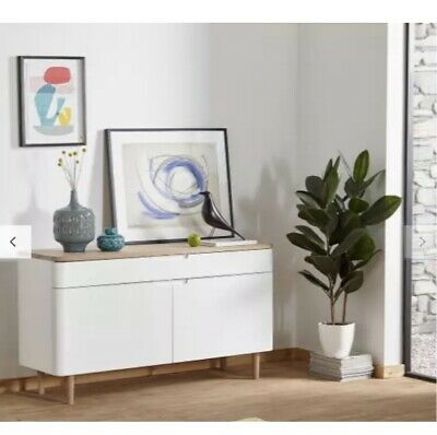 £499.99 • Buy Ebbe Gehl For John Lewis Mira Sideboard, White/Oak RRP £699 Out Of Stock Online