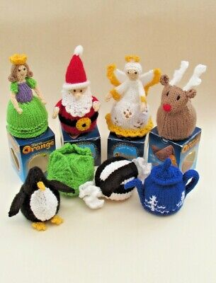 £3.85 • Buy Christmas Terry's Chocolate Orange Cosies Knitting Pattern - 8 Designs To Knit