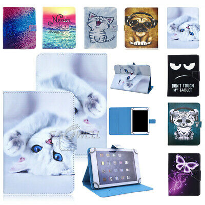 AU16.99 • Buy For Lenovo 7 Inch Tablet Universal Folding Printed Leather Protective Cover Case