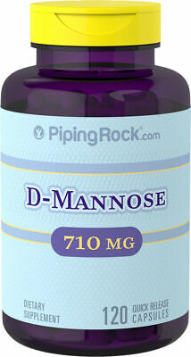 AU42.95 • Buy Super Strength D-Mannose 710 Mg 120 Capsules Optimize Urinary Tract Health