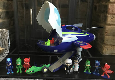 Pj Masks Supermoon Adventure Hq Rocket Lights Sounds Space Rover & Figures L@@k • 15£