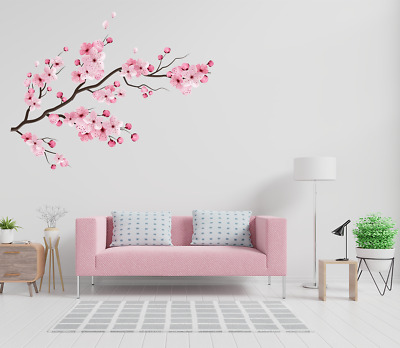 Large Cherry Blossom Flower Wall Stickers Art Decal Home Room Decor - Japanese  • 5.79£
