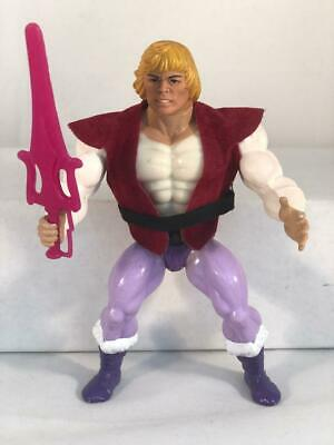 $32 • Buy MOTU He-Man Masters Of The Universe 1984 Prince Adam ~ Vintage ~ Vest Belt Sword