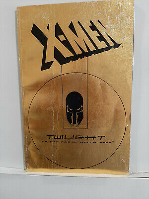 AU11 • Buy X-MEN TWILIGHT OF THE AGE OF APOCALYPSE 1995 First Printing TPB