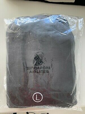 AU150 • Buy Singapore Airlines First Class Pyjamas / Sleeper Suit 2017 - Unopened Large Size