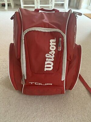 Wilson Tour Backpack - Red • 22£