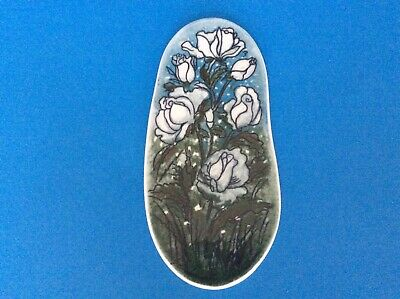 £37.50 • Buy Vintage Arabia Finland Wall Plaque Decorated With Flowers By Helija  Sundstrom