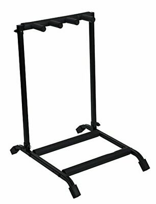 $ CDN96.89 • Buy Rok-It Multi Guitar Stand Rack With Folding Design; Holds Up To 3 Electric Or Ac