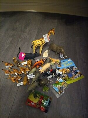 Miniature Animal Toy Collection 30 Pcs • 4.99£