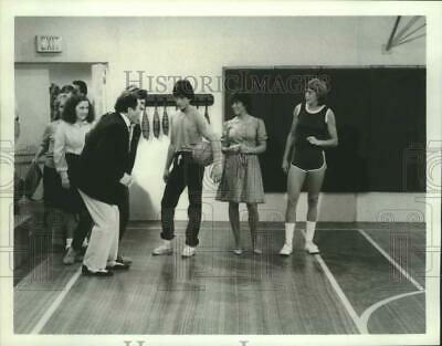 $19.99 • Buy Press Photo Basketball Player Nancy Lieberman With Actors Erin Moran, Scott Baio