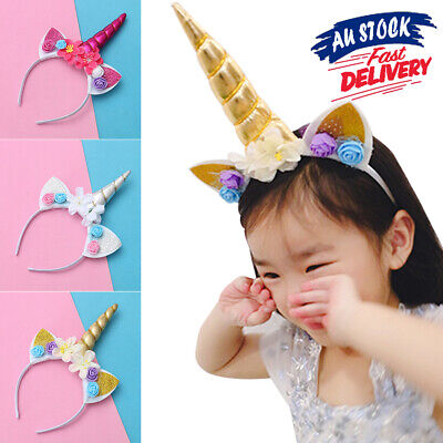 AU9.88 • Buy Halloween Children Selling Cute Funny Unicorn Headband AZ
