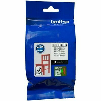 AU68.99 • Buy Genuine Brother LC-3319XL Black Ink Cartridge For