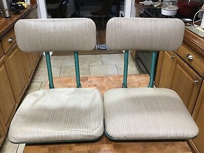 $ CDN50.50 • Buy Pair Of Vintage Frabil Folding Boat Seats