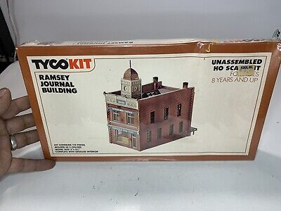 $ CDN10.51 • Buy B2 TYCO HO Scale Model Trains Train Building Kit Scenery Ramsey Journal Buildimg