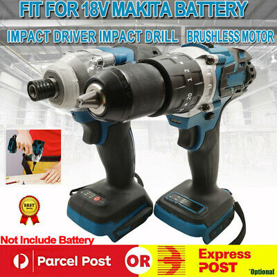 AU99.65 • Buy Cordless Brushless Impact Wrench Driver Tool Replace Body For Makita 18V Battery