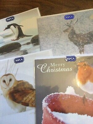 £0.99 • Buy RSPCA Christmas Cards.  Various Designs. Excellent Quality