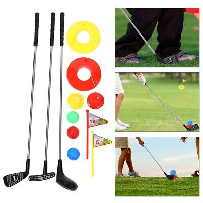 10pc Kid's  Clubs Set Outdoor  GolfToddler Preschoolers Kids Educational Toy • 17.69£