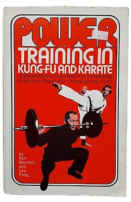 Power Training In Kung Fu And Karate PB Book Martial Arts MMA  • 5£