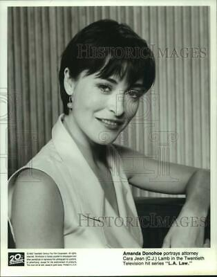 1992 Press Photo Amanda Donohoe In  L.A. Law  - Hcp39272 • 14.62£