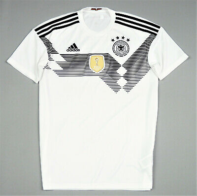 Germany Adidas Jersey Home Shirt 2018-19 Size S • 6.99£