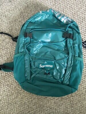 $ CDN76.55 • Buy Supreme FW17 Backpack Dark Teal