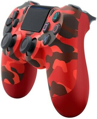 Sony PS4 Controller - DualShock V2 Playstation 4 Controllers - Red Camo 👍👍👍 • 33£