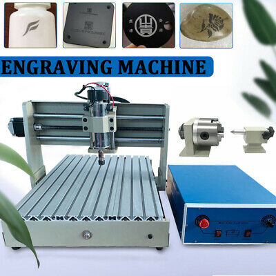 AU1034 • Buy CNC 3040T Router 4 Axis Wood Engraving Milling Cutting Machine Engraver+Handle
