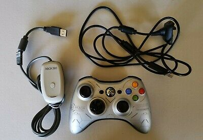 AU41 • Buy Xbox 360 LE Halo Reach Controller + Play And Charge Cable + PC Receiver