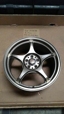 AU45.99 • Buy 1X Japan Made 5ZIGEN MAG WHEEL FN01R-C 17 INCH X 8  5H X 100 PCD