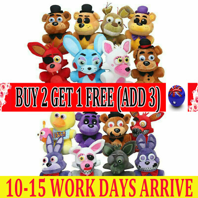 AU3.99 • Buy Five Nights At Freddy's FNAF Horror Game Plush Doll Plushie Toys Kids Gifts WS