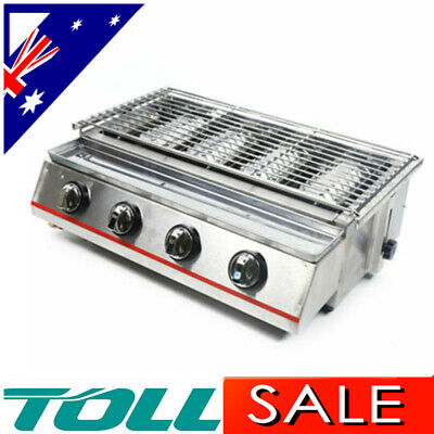AU317.01 • Buy Portable Gas Stove Cooker 4 Burners BBQ Camping Party Burner Outdoor