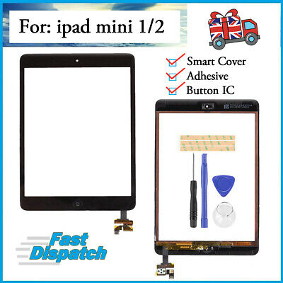 For IPad Mini 1 2 Touch Digitizer Glass Screen Replacement Black OEM Genuine IC • 13.99£