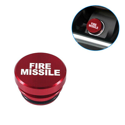 $ CDN4.58 • Buy Universal Fire Missile Button Car Cigarette Lighter Cover 12V Accessories