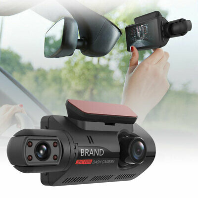 AU64.21 • Buy Dash Cam Recorder Dual Lens Camera HD 1080P Car DVR Vehicle Video G-Sensor MS