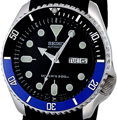$ CDN188.56 • Buy Vintage SEIKO SKX007 Diver CERAMIC Bezel Mod With Genuine 7S26 Case, Dial & Movt