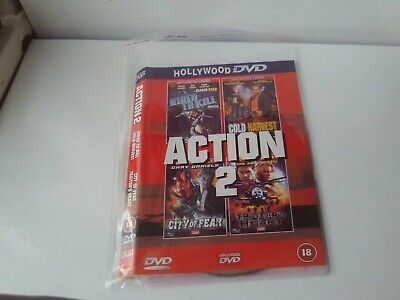 £1.80 • Buy The Hollywood Action Box Set 2 DVD Hired To Kill/Cold Harvest Etc. No Case