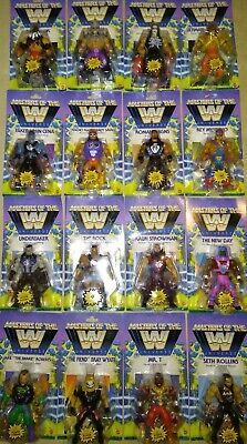 $499.99 • Buy Masters Of The WWE Universe Series 1 2 3 4 Set Figure Lot Sting Undertaker Mr T