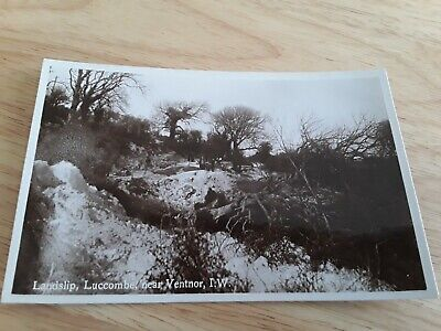 Nigh Postcard Landslip Luccombe Near Ventnor Isle Of Wight Iow Iw  • 5.50£