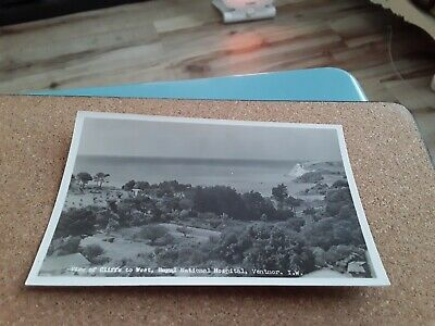 Postcard View Of Cliffs To West Royal National Hospital Ventnor, Isle Of Wight • 7.50£