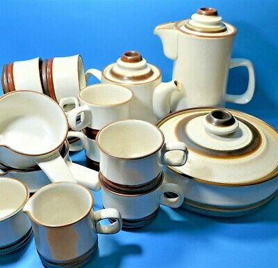 £10.99 • Buy DENBY POTTERS WHEEL DESIGN REPLACEMENT PIECES DISCONTINUED CHINA UNUSED Vgc