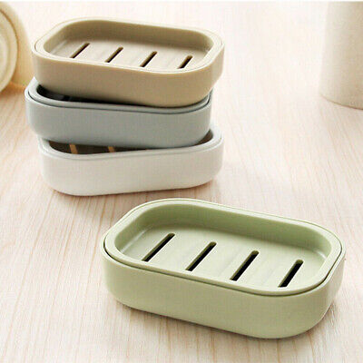 Dual-use Soap Dispenser Dish Case Holder Container Box • 2.79£