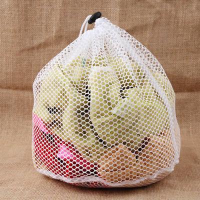 Large Mesh Laundry Wash Bags Machine Washables For Lingerie Clothes Socks #X1 • 4.51£