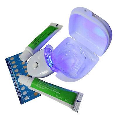 AU13.91 • Buy Teeth Whitening Kit With Cold LED Whitening Gel Reusable Tray Silicone Brace